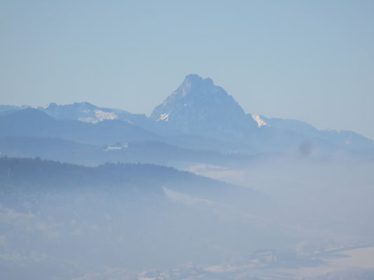 Mt Traunstein.