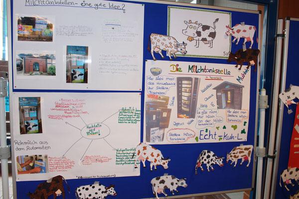 Unsere Wissensplakate zur Milchtankstelle
