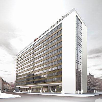 Entwurf des Büro S & P Ingenieure und Architekten, Leipzig