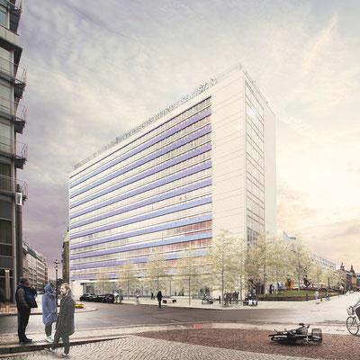 Entwurf des Büro Knerer und Lang Architekten GmbH, Dresden