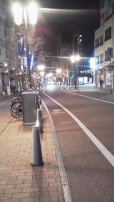 松山市のロープーウェイ街