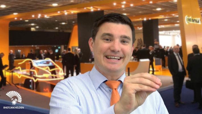 Keynote-Speaker für Mitarbeiter Gewinnung, Bindung und Motivation in Hannover - Tim Christopher Gasse