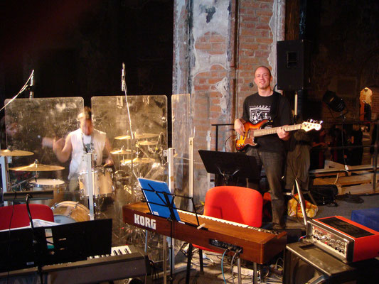 w/Christoph Sztrakati @ gospel gig in Danzig