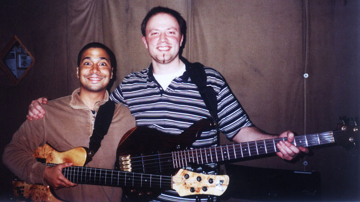w/Matt Garrison @ Bass Collective, NYC 2004