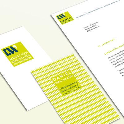 Logodesign, Visitenkartendesign, Briefschaftdesign