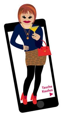 Illustration von Anja Piffaretti, creative-island.ch: Generationenvielfalt, Selfie, Arbeitsplatz, Arbeitszeitmodelle, neues Timemanagement