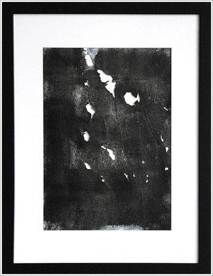 30 cm x 40 cm - Acryl-Buntlack auf handgeschöpftem Papier - 2015