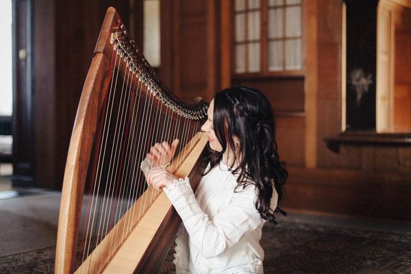 keltische Harfe Melinda Rodrigues