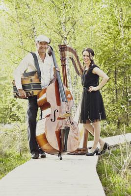 Musikduo - Harfe trifft Steirische