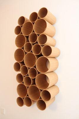 Schal Aufbewahrung aus Holz