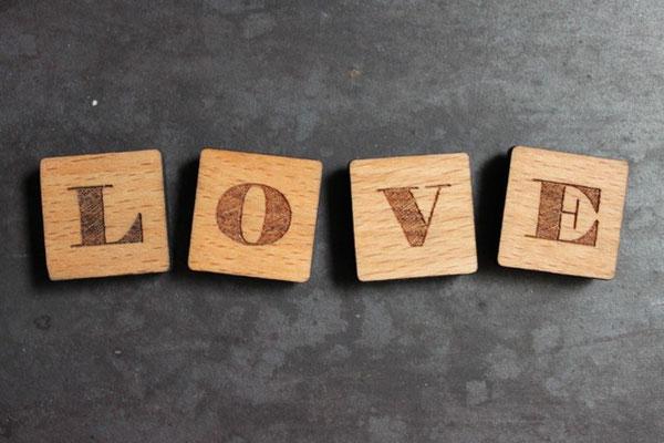 Magnet Buchstaben aus Holz