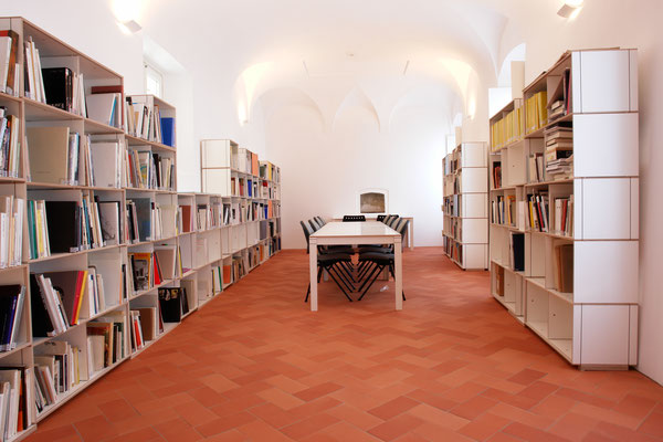 Bibliothek Bücherregal