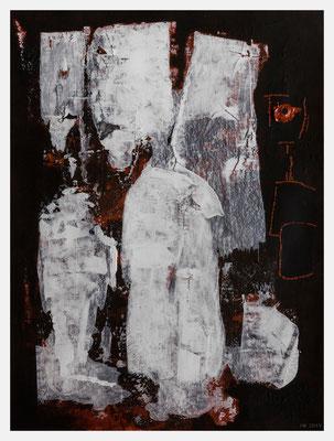 der Schutzengel (Acryl auf Papier, 250g/m², 24 x 32 cm)