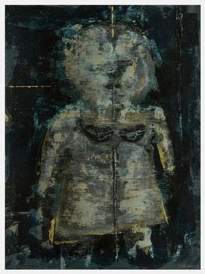 des Henkers Seide (Acryl, Antik Metallic, Pastell auf Papier, 265g/m², 30 x 40 cm)