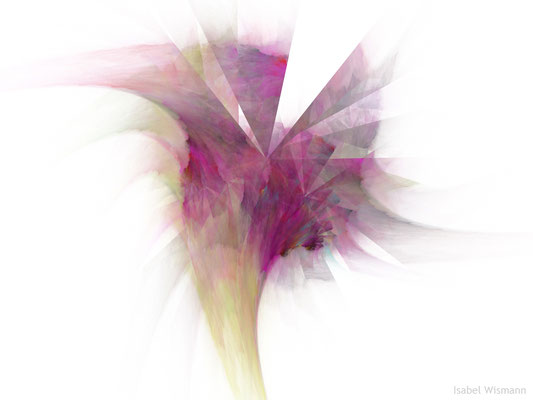 "Blüte (digitales ""Aquarell"")"