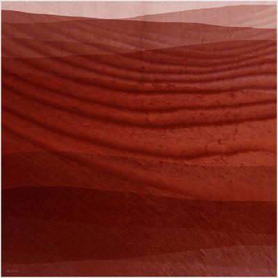 Sahara (mixed media/Basis: digitale Malerei)