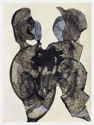 Familienbande (Acryl auf Papier, 265g/m², 30 x 40 cm)