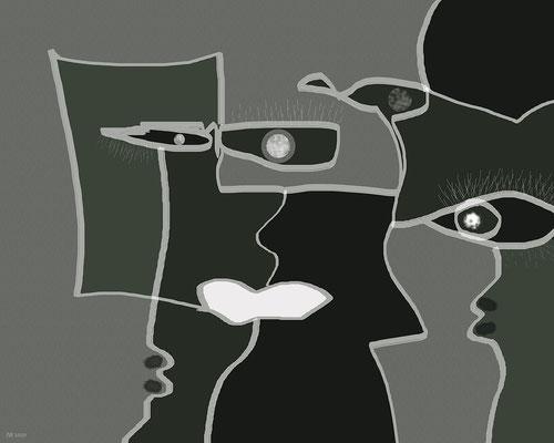 unübersichtliche Verhältnisse (digitale Malerei)