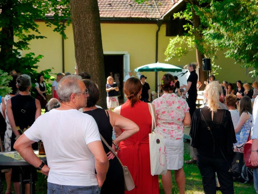 Sommervernissage am 7. Juni 2015 in der Mohr-Villa