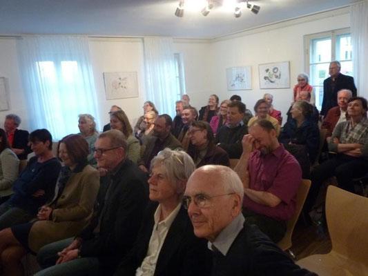 Vernissage: Rose und Regen - 9. April 2015 im Erdgeschoss der Mohr-Villa