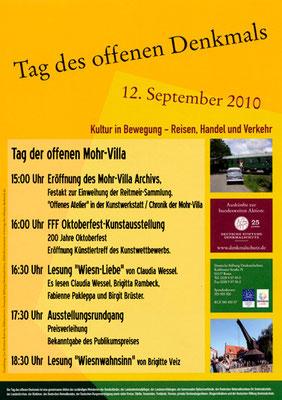 Tag des offenenen Denkmals 2010 in der Mohr-Villa - 12. Sept 2010
