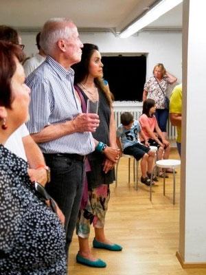 """Eröffnung Foto-Ausstellung: """"Ein Platz für alle"""" im Rückgebäude der Mohr-Villa - 3. Juli 2015"""