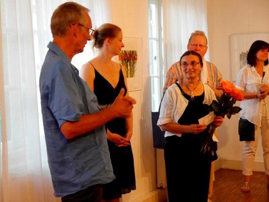 Vernissage: Perspektive - am 3. Juli 2015 im Erdgeschoss der Mohr-Villa