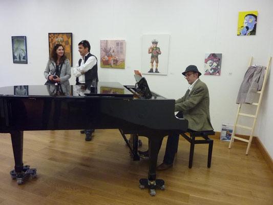 Vernissage: Lacht Kunst? - 7.Mai 2015 im Gewölbesaal der Mohr-Villa