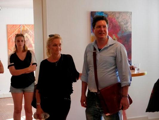 """Vernissage """"Colorsphere"""" am 7. Juni 2015 in der Mohr-Villa, zusammen mit zwei weiteren Kunstausstellungen"""