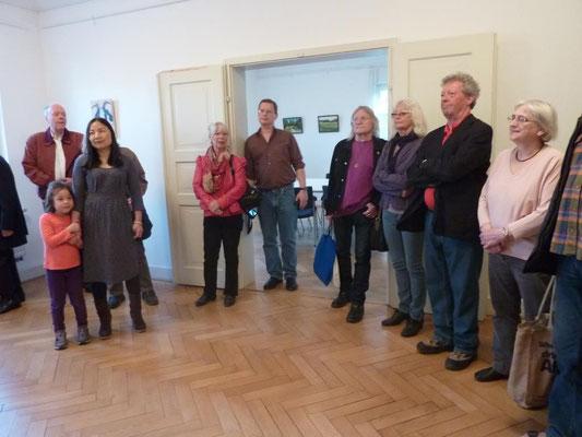 Vernissage: Fröttmaninger Portraits - 9. April 2015 im Kaminzimmer der Mohr-Villa