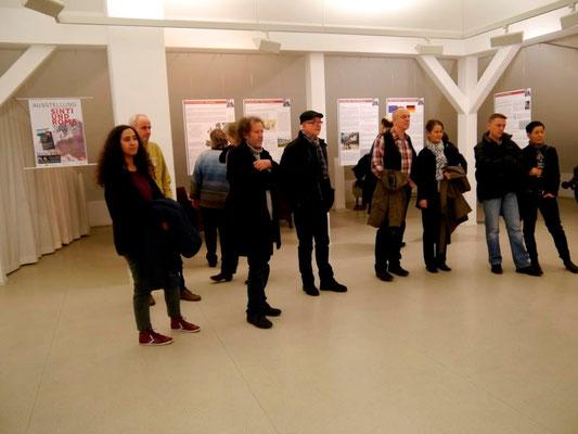 """Eröffnung """"Sinti und Roma - in Europa zuhause"""" am 6.3.15 im Dach der Mohr-Villa"""