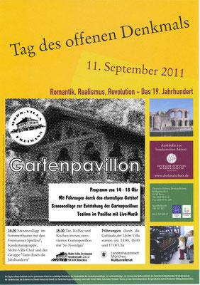 Tag des offenenen Denkmals 2011 in der Mohr-Villa - 11. Sept 2011
