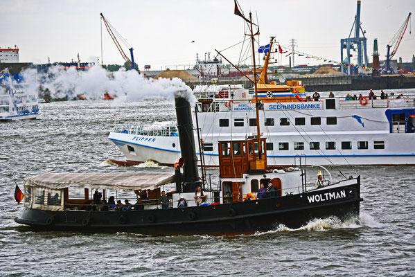 WOLTMAN zum 824.Hamburger Hafengeburtstag 2013