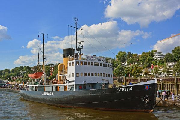 STETTIN im Museumshafen Hamburg/Övelgönne