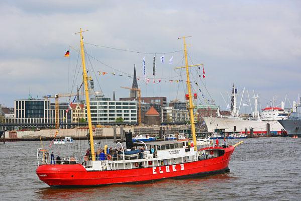 ELBE 3 zum 828.Hamburger Hafengeburtstag