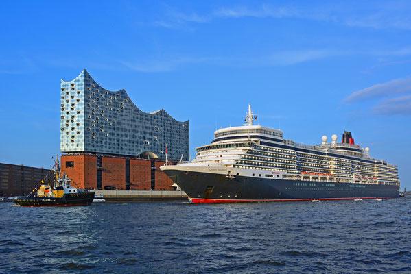 Queen Elizabeth zum 829.Hamburger Hafengeburtstag