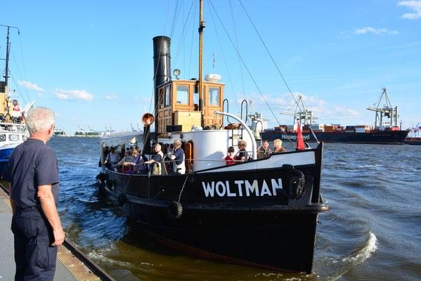 WOLTMAN zum Hafenfest im Museumshafen Övelgönne am 24.08.2013