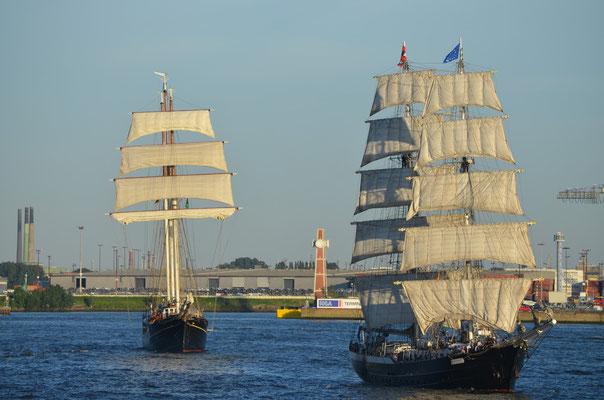 Gulden Leeuw  zu den Hamburg Cruise Days am 18.08.2012