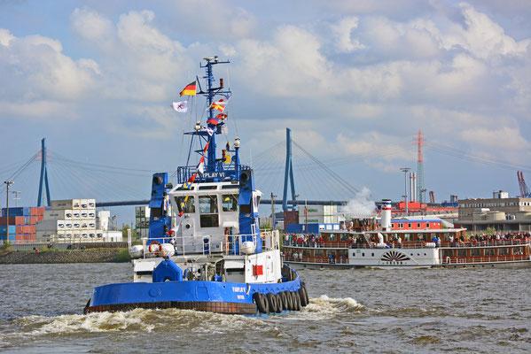FAIRPLAY VI beim Hamburger Hafengeburtstag 2013