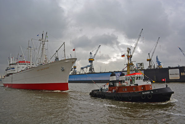 CAP DSAN DIEGO zum 825.Hamburger Hafengeburtstag 2014