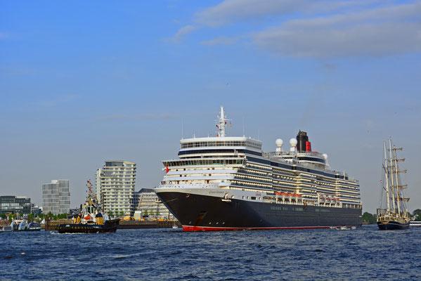 Queen Elizabeth zum 829.Hamburger Hafengeburtstag 2018