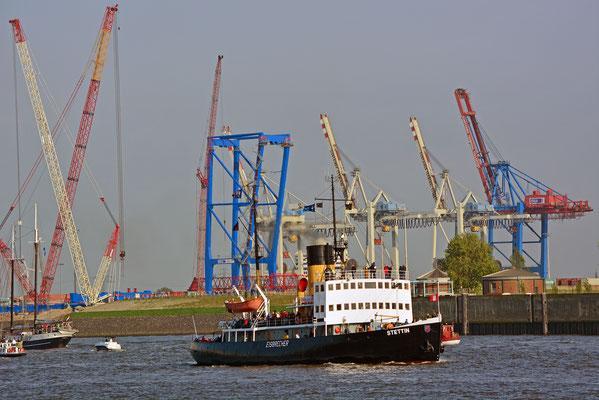 STETTIN zum 828.Hamburger Hafengeburtstag