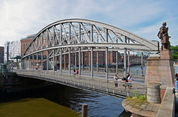 Kornhausbrücke über den Zollkanal