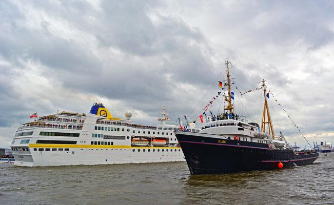 ELBE zum 825.Hamburger Hafengeburtstag 2014