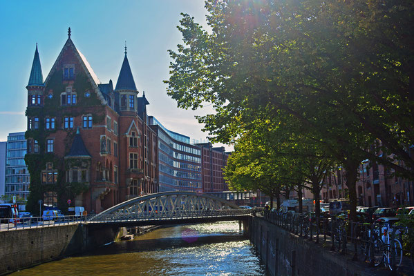 Historische Speicherstadt/moderne HafenCity