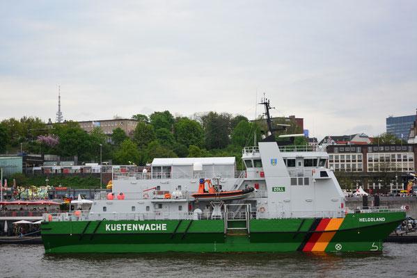 Zollschiff KÜSTENWACHE HELGOLAND