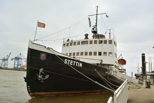 STETTIN im Museumshafen Övelgönne am 23.02.2013