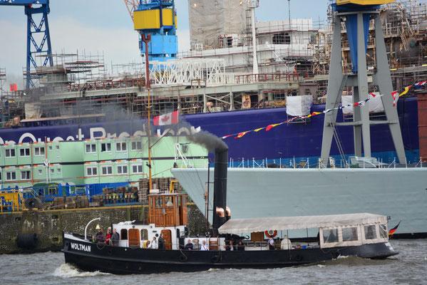 WOLTMAN beim 824.Hamburger Hafengeburtstag am 10.05.2013