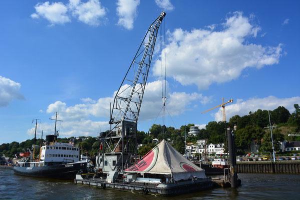 KARL FRIEDRICH STEEN zum Hafenfest im Museumshafen Övelgönne am 24.08.2013