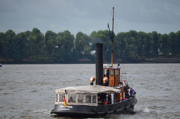 WOLTMAN im Hamburger Hafen am 15.09.2012